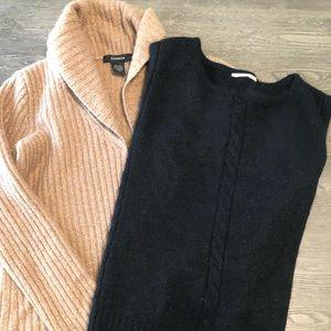 EXPRESS & MK Shimmer Sweater Bundle